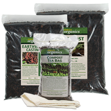 Ready-to-Use Compost, Worm Castings & Compost Teas