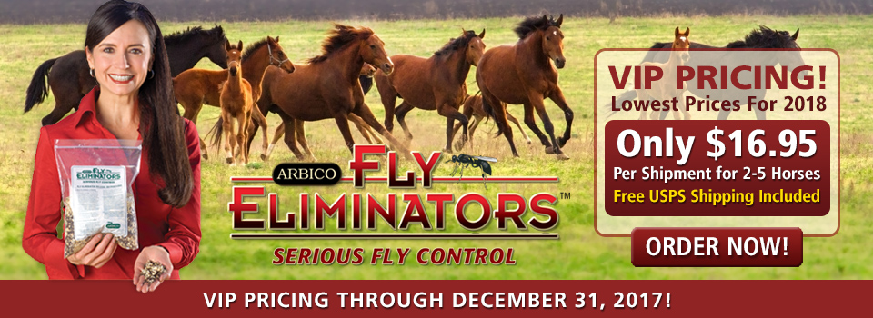 Biological Fly Control With Fly Eliminators