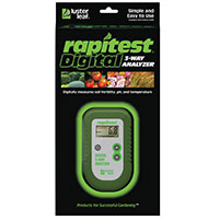 Luster Leaf® Rapitest® Digital 3-way Analyzer 1835