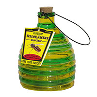 Glass Wasp Trap with Lure
