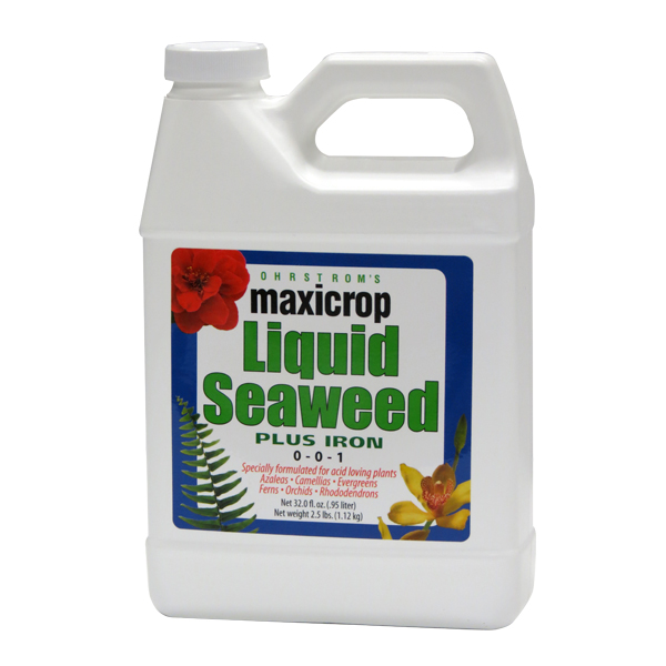Maxicrop Liquid Seaweed Plus Iron, 0-0-1 + 2% Iron