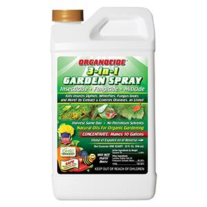 organocide 3 in 1 garden spray