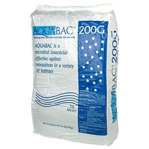 AQUABAC® 200G Granular Bti Mosquito Control