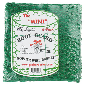 Root Guard Gopher Wire Basket   Root Guard Gopher Wire Baskets To Protect Small Planting Areas Or
