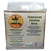 Prococo Compressed CocoPeat Block - 10 lbs
