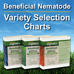 Beneficial Nematode Variety Selection Chart