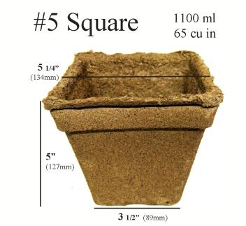 Cowpots™ - #5 Square