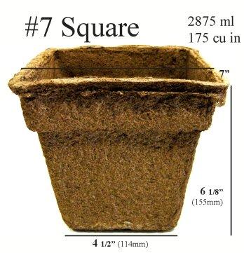 CowPots™ - #7 Square, 90 Pots