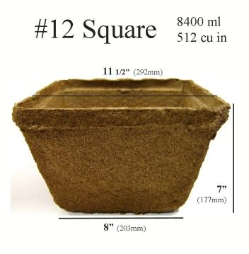 CowPots™ - #12 Square 40 Pots