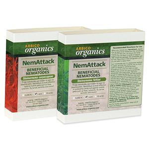 Nemattack nematodes combo pack s carpocapsae s feltiae for Beneficial nematodes for termites